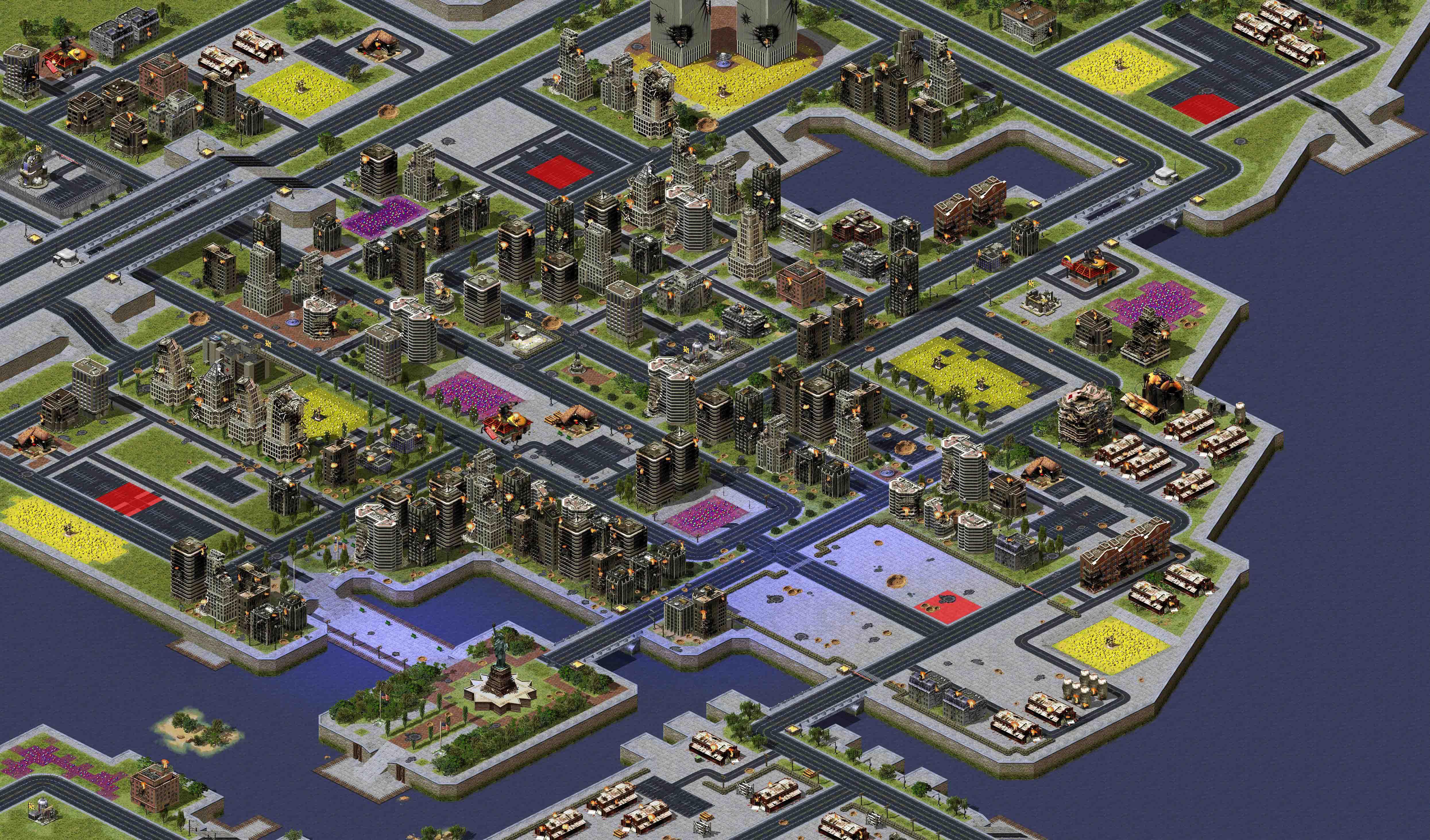 Red Alert 2 Mapss